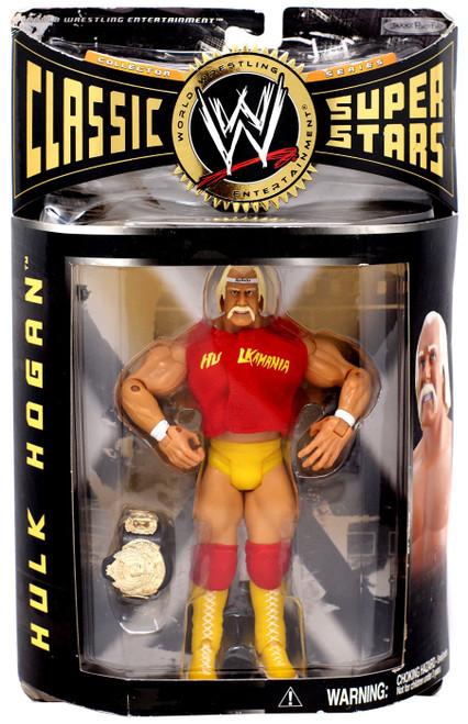 WWE Wrestling Classic Series 8 Hulk Hogan Action Figure