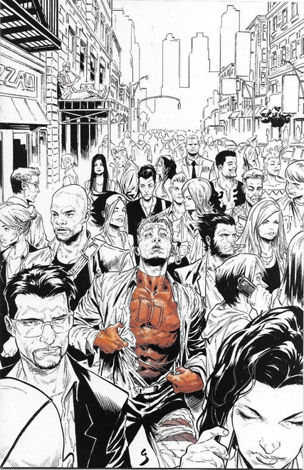 Marvel Comics Marvel Knights #1 of 6 Limited to 500 Comic Book [Virgin LCSD Cover]