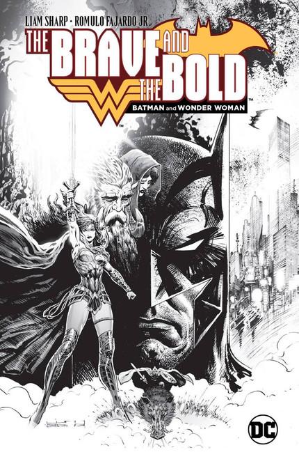 DC Brave & The Bold Batman & Wonder Woman Hard Cover Comic Book [LCSD Variant]