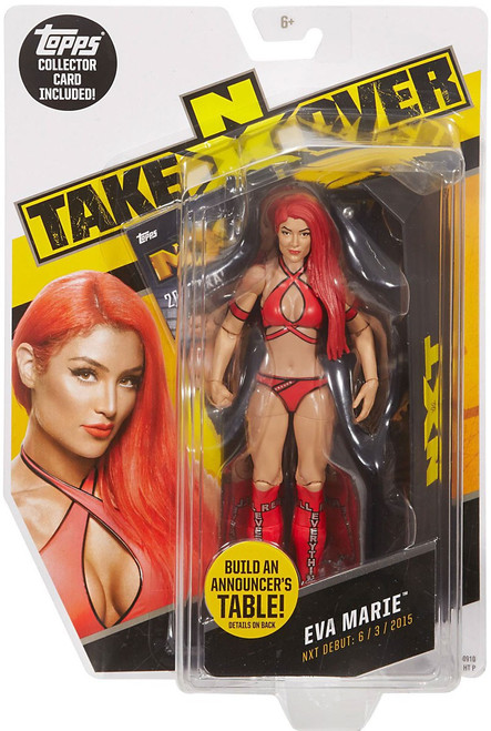WWE Wrestling NXT Takeover Eva Marie Exclusive Action Figure [Damaged Package]