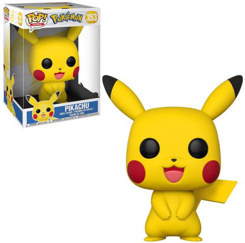Funko Pokemon POP! Games Pikachu Exclusive 10-Inch Vinyl Figure #353 [Super-Sized]