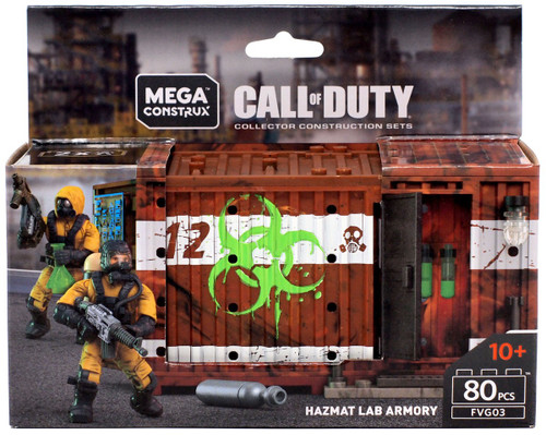 Call of Duty Hazmat Lab Armory Set