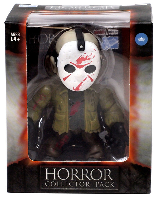 Horror Friday the 13th Jason Voorhees Vinyl Figure [Green Jacket, Bloody]