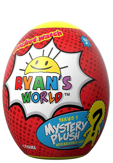 Ryan's World Series 1 Plush with Backpack Clip Mystery Pack