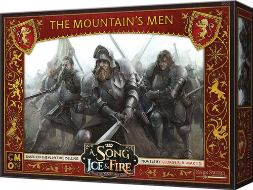 A Song of Ice & Fire Lannister The Mountain's Men Unit Box Tabletop Miniatures Game
