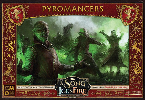 A Song of Ice & Fire Lannister Pyromancers Unit Box Tabletop Miniatures Game