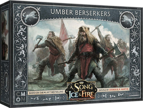 A Song of Ice & Fire Stark Umber Berserkers Unit Box Tabletop Miniatures Game