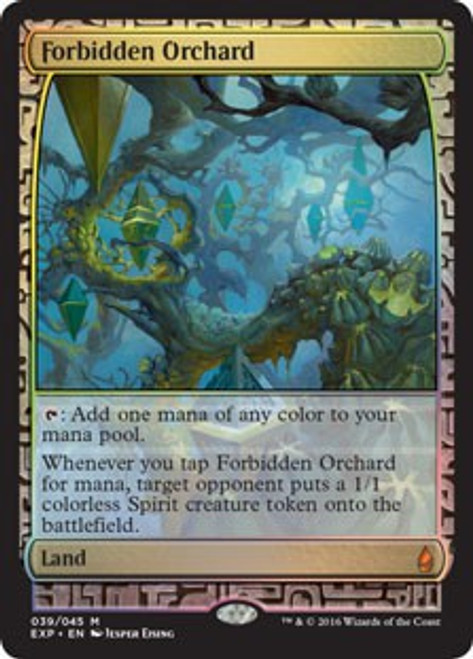 MtG Oath of the Gatewatch Forbidden Orchard [Zendikar Expedition]