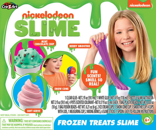 Nickelodeon Frozen Treats Slime Kit