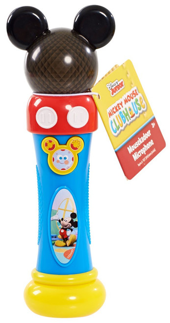 Disney Mickey Mouse Mousekadoer Microphone Toy