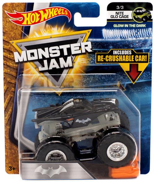 Hot Wheels Monster Jam DC Comics Batman Die-Cast Car [Nite Glo Cage]
