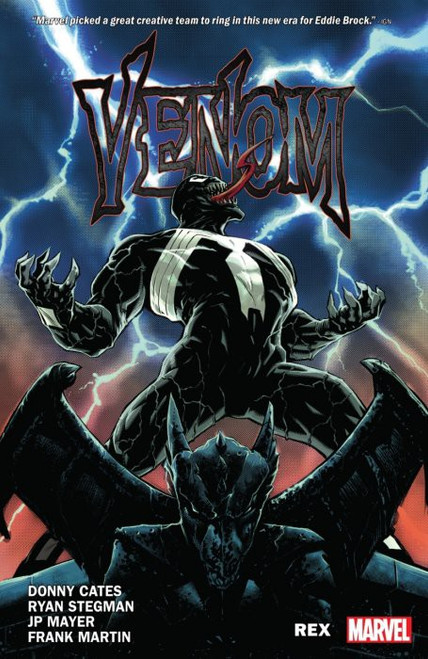 Marvel Comics Venom Rex Trade Paperback Comic Book Vol 1