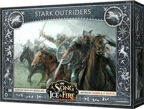 A Song of Ice & Fire Stark Outriders Unit Box Tabletop Miniatures Game