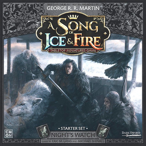 A Song of Ice & Fire Night's Watch Tabletop Miniatures Game Starter Set