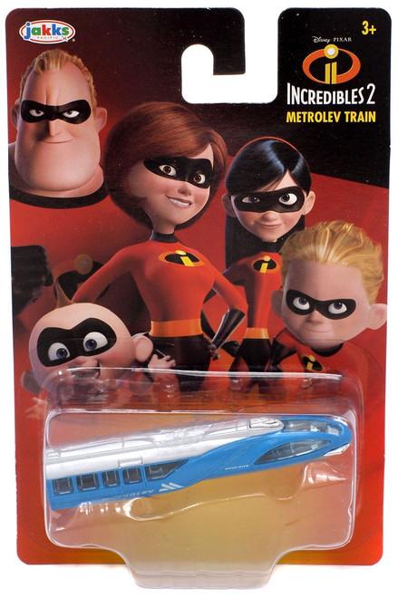 Disney / Pixar Incredibles 2 Metrolev Train Diecast Car