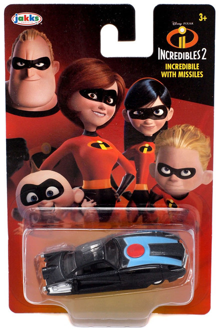 Disney / Pixar Incredibles 2 Incredibile with Missiles Diecast Car