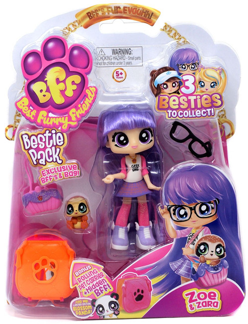 BFF Best Furry Friends Bestie Pack Zoe & Zara Figure