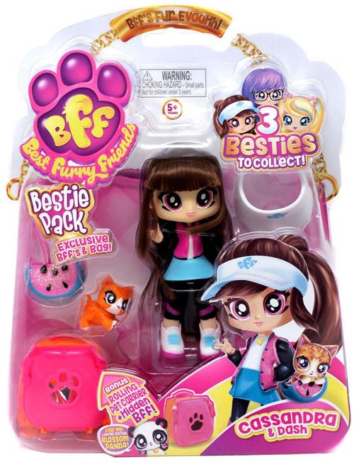 BFF Best Furry Friends Bestie Pack Cassandra & Dash Figure