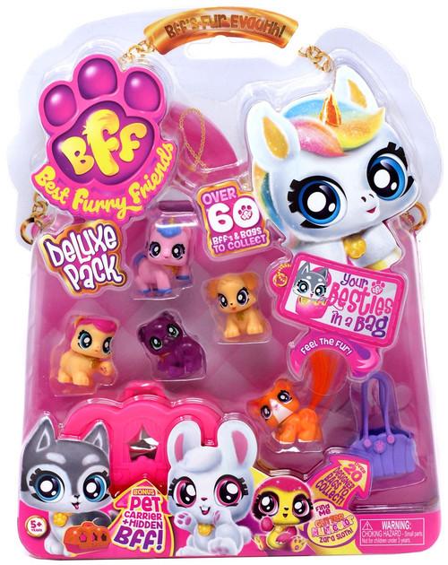 BFF Best Furry Friends Deluxe Pack Purple Jelly Rocket Mini Figure 6-Pack