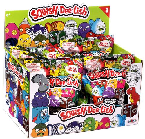 Squish-Dee-Lish Wacky Series 3 Mystery Box [12 Packs]