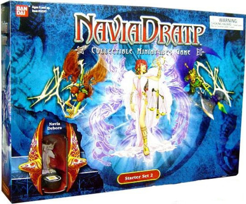 Collectible Miniatures Game Navia Dratp Starter Set #2 [Blue, Damaged Package]