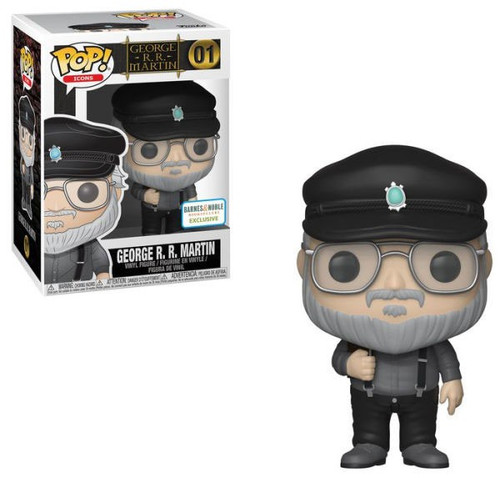 Funko Game of Thrones POP! George R.R. Martin Exclusive Vinyl Figure #01
