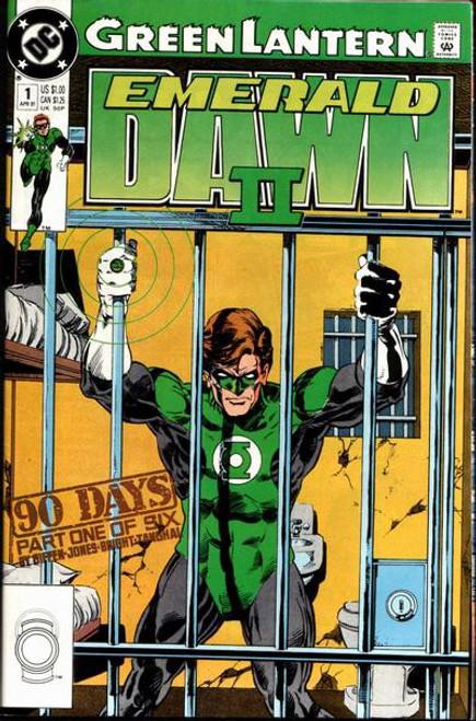 DC Green Lantern #1 Emerald Dawn II Comic Book [Very Fine]