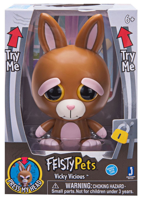 Feisty Pets Vicky Vicious 4-Inch Figure