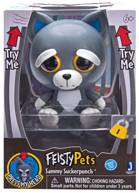 Feisty Pets Sammy Suckerpunch 4-Inch Figure