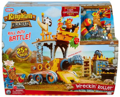 Little Tikes Kingdom Builders Wreckin' Roller Playset