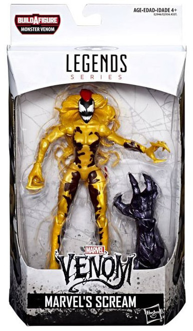 Marvel Legends Monster Venom Series Scream Action Figure [Damaged Package]
