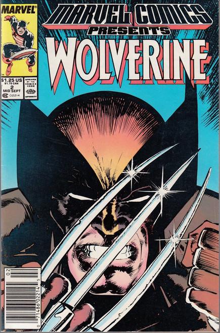 Marvel Comics Marvel Presents Vol 1 #2 Wolverine Comic Book
