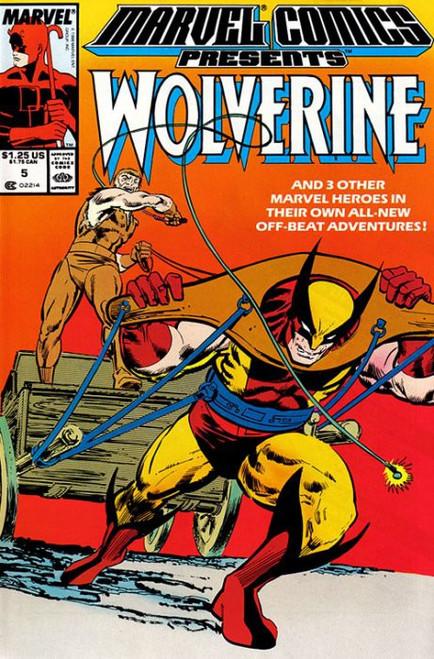 Marvel Comics Marvel Presents Vol 1 #5 Wolverine Comic Book