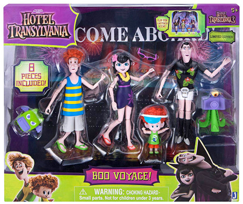 Hotel Transylvania 3 Boo Voyage! Action Figure 4-Pack