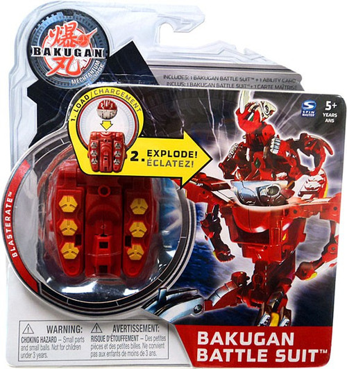 Bakugan Mechtanium Surge Blasterate Battle Suit [Red]