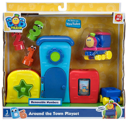 Bob the Train Around the Town Playset