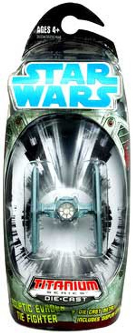 Star Wars Expanded Universe Titanium Series 2008 Ecliptic Evader TIE Fighter Diecast Vehicle