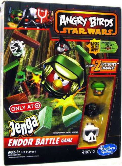 Star Wars Angry Birds Jenga Endor Battle Exclusive Game