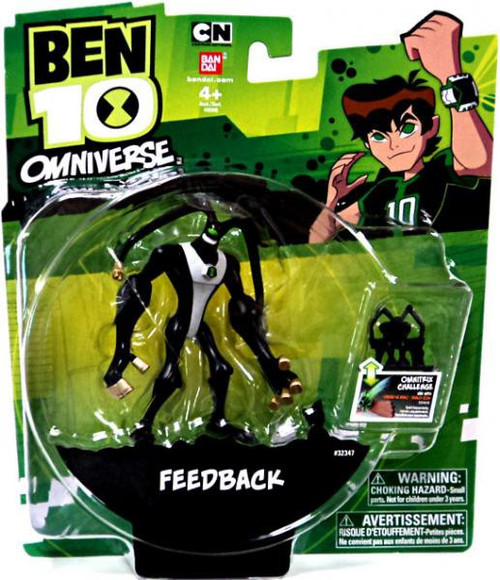 Ben 10 Omniverse 4-Inch Feedback Action Figure [Damaged Package]