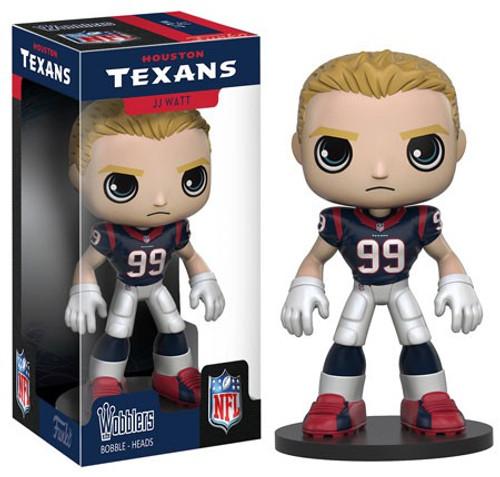 Funko Houston Texans Wobbler: NFL J.J. Watt Bobble Head [Damaged Package]