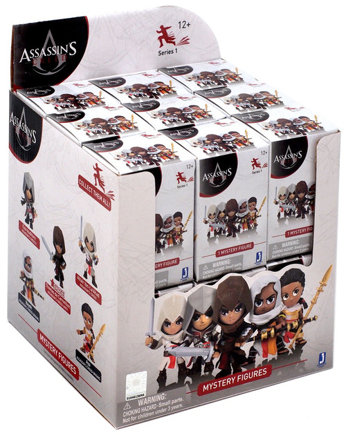 Series 1 Assassin's Creed Mini Figure Mystery Box [18 Packs]