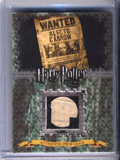 Harry Potter and the Half-Blood Prince Alecto Carrow Wanted Poster Authentic Prop Card P12 [088/240]