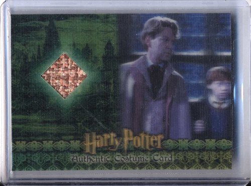 Harry Potter and the Chamber of Secrets Kenneth Branagh as Gilderoy Lockhart Authentic Costume Card C3 [563/600]