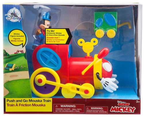 Disney Mickey Mouse Clubhouse Push & Go Mouska Train Exclusive