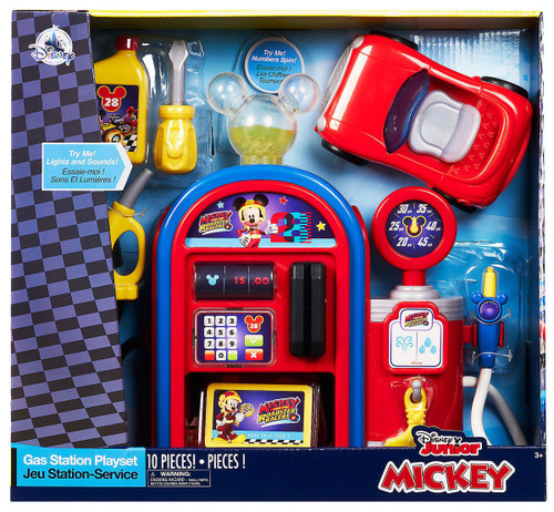 Disney Mickey Mouse Clubhouse Gas Station Exclusive Playset
