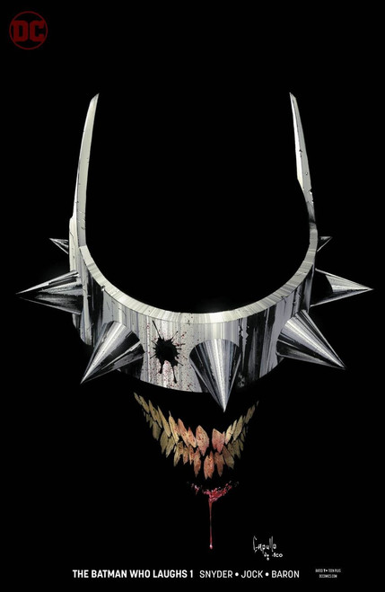DC The Batman Who Laughs #1 Comic Book [Greg Capullo Variant Cover]