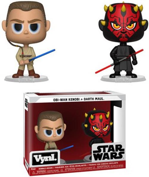 Funko Star Wars Vynl. Obi-Wan Kenobi & Darth Maul Vinyl Figure 2-Pack