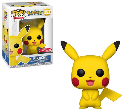 Funko Pokemon POP! Games Pikachu Exclusive Vinyl Figure #353