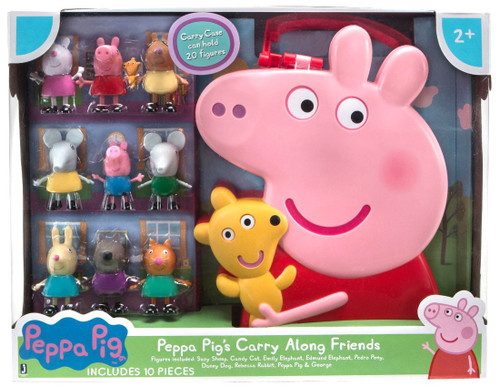 Peppa Pig's Carry Along Friends Exclusive Figure Set
