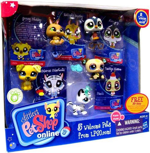 Littlest Pet Shop Online 5 Welcome Pets Exclusive Figure Set [Damaged Package]